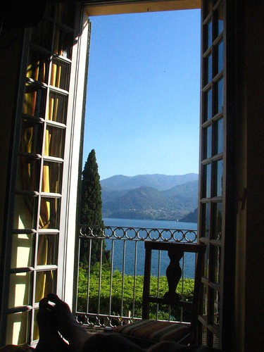 View from Our Room Villa Cipressi, Varenna | by SeppySills