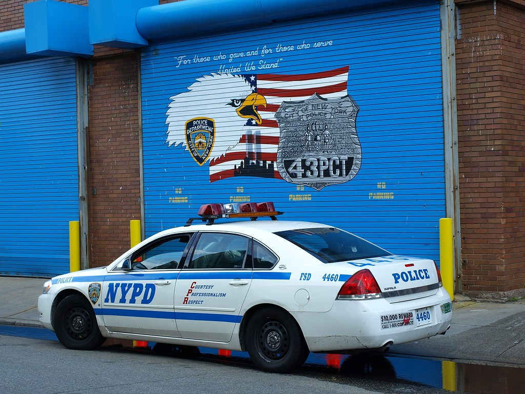 P043s garage at nypd police station precinct 43 parkchest for Garage auto city cadaujac