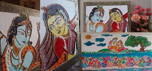 handmade paintings