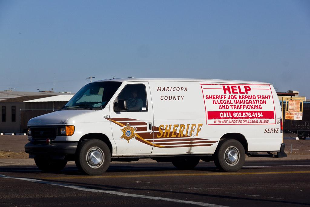 Mcso Inmate Transport Van Maricopa County Sheriffs
