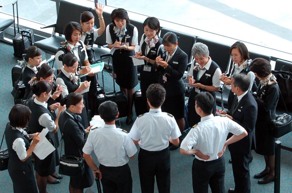 Another Gratuitous Flight Attendant Photo Japan Airlines