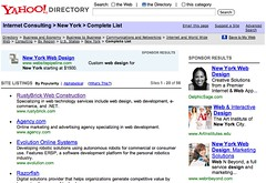 Yahoo Directory Image Sponsored Ads | by rustybrick