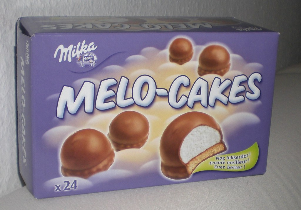 Milka Melo Cakes Marshmellows With Bisc And Choc Like