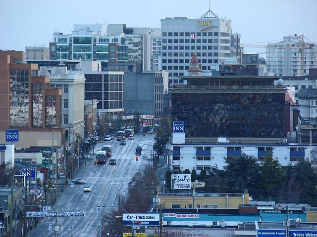 Downtown Victoria B C Taken From Ross Place S Roof Top