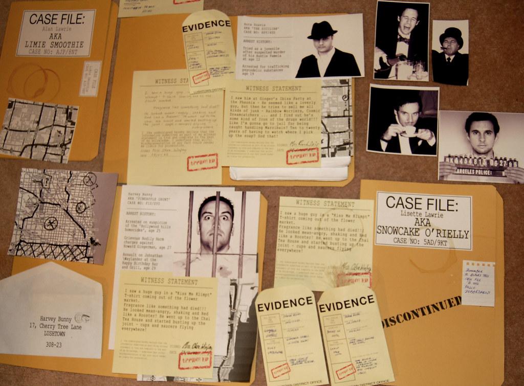 detective book report