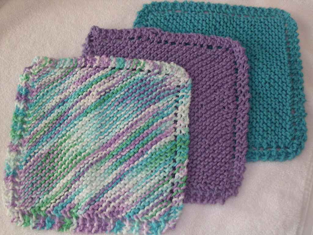 Knit Dishcloths Pattern used - Grandmothers Favorite Dish? Flickr
