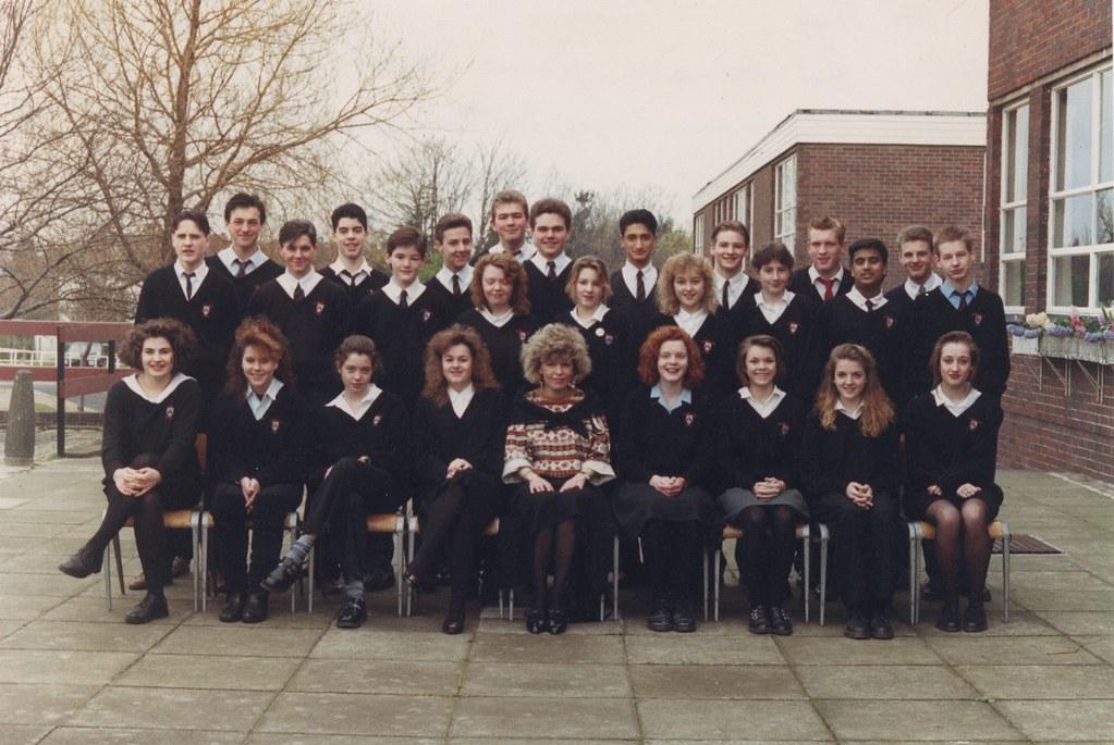 Bramhall High School 1990 Class 5n Tutor Ms Hails Top