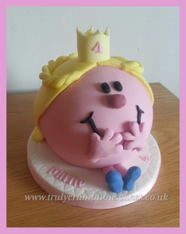 Little Miss Princess Cake Birthday Cake Based In The Littl Flickr