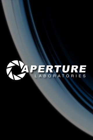 Aperture Science | iPhone Wallpaper | Larry Tomlinson | Flickr
