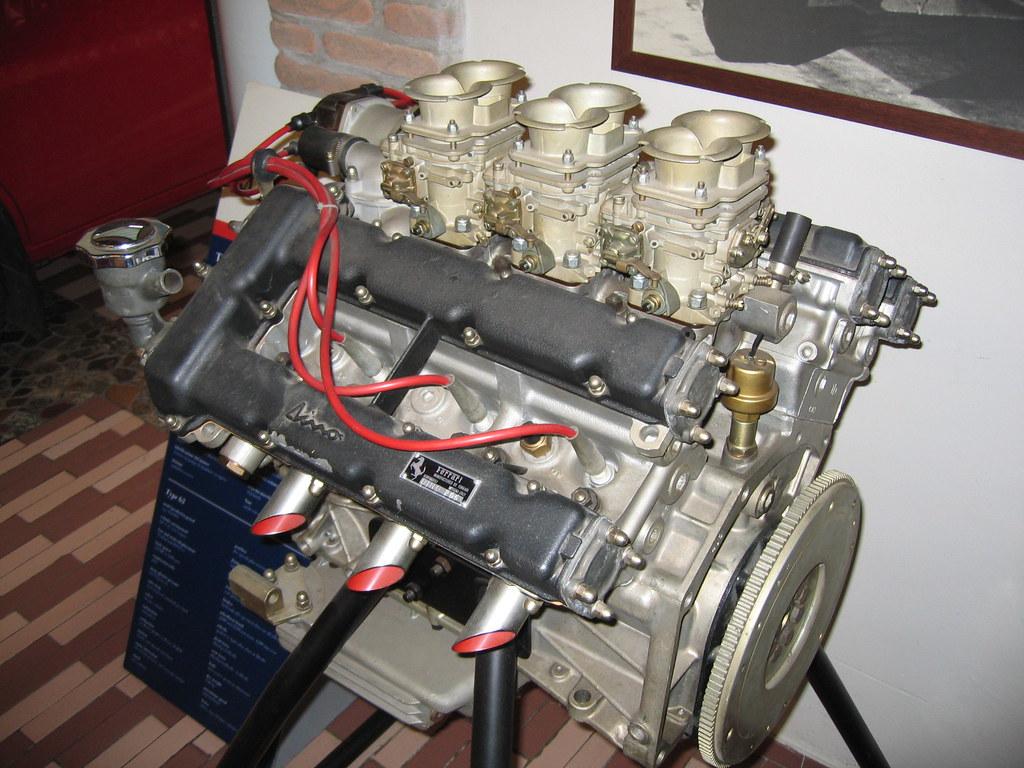 Ferrari Dino V6 Engine Glenn Firth Flickr