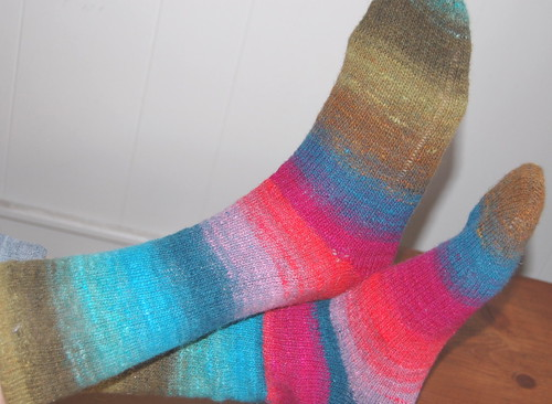 noro kureyon socks 2 | by knitting school dropout