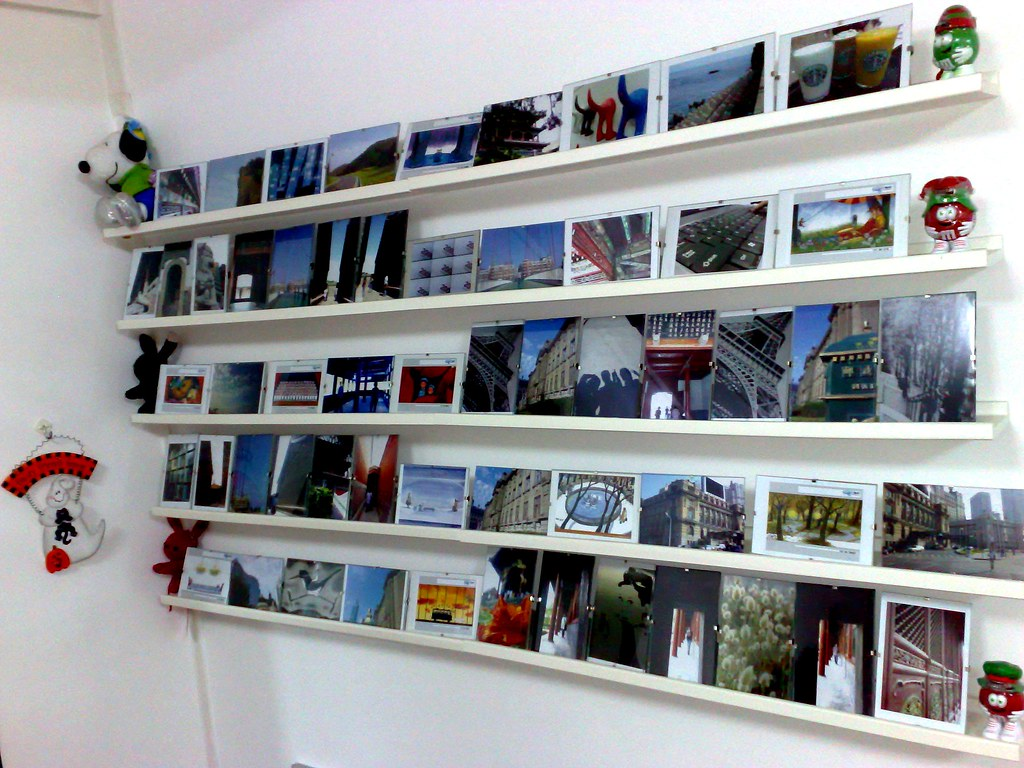 MY wall decoration (IKEA Frame with clips) | All from IKEA (… | Flickr
