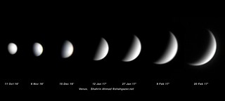 Venus - Oct 2016 to Feb 2017 | by Shahrin Ahmad (ShahGazer)