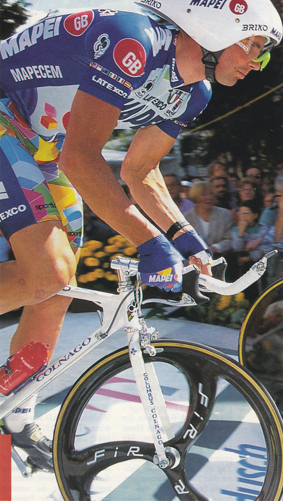Tour De France 96 Tony Rominger Anders Flickr
