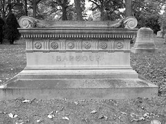 Woodlawn Cemetery: Levi Barbour Sarcophagus--Detroit MI