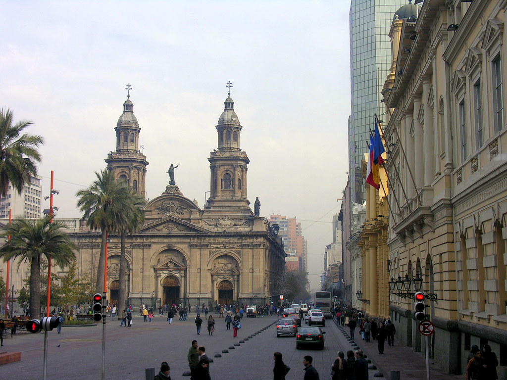 Catedral de Santiago do Chile  Catedral de Santiago do Chil…  Flickr