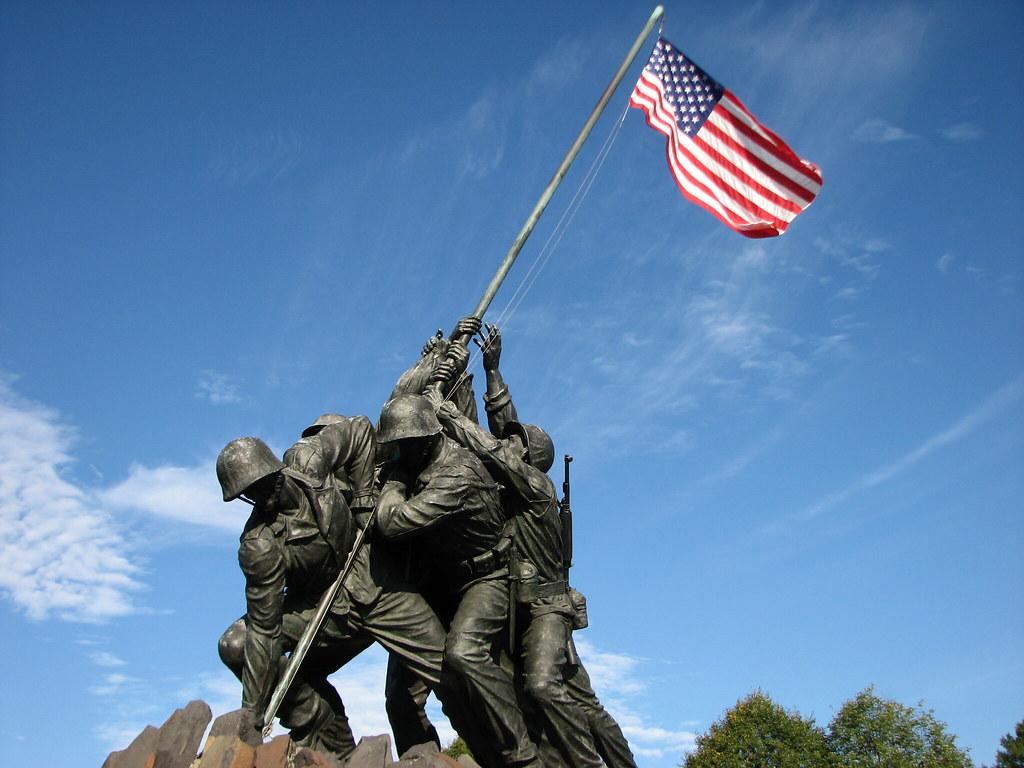 US Marine Corps Memorial,Washington DC | The famous Iwo ...