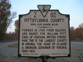 Pittsylvania County Historic Marker | by jimmywayne