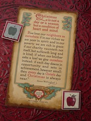 Christmas Poem - Vintage Ephemera | by A Storybook Life