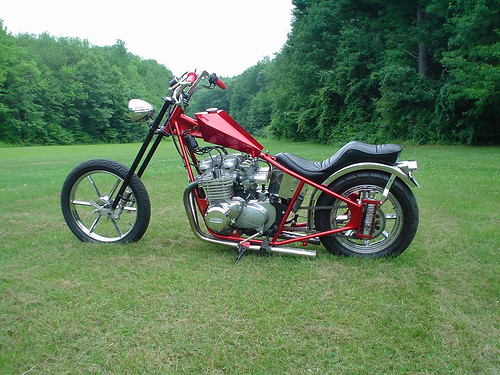 Vintage Bike Of The Day 1952 Vincent Black Lightning further C29mdGFpbCBjaG9wcGVyIGppZyBwbGFucw furthermore 2235193506 as well Harley Chopper as well Mid Mo Mc 06 Bonneville Black Trike. on honda cb750 chopper frames