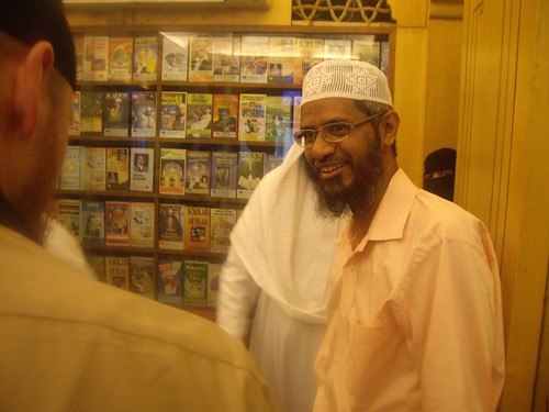 Zakir Naik at the IRF office | by Musa abu A'isha