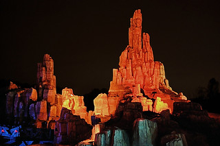 Disney - Big Thunder Mountain Railroad at Night | by Express Monorail