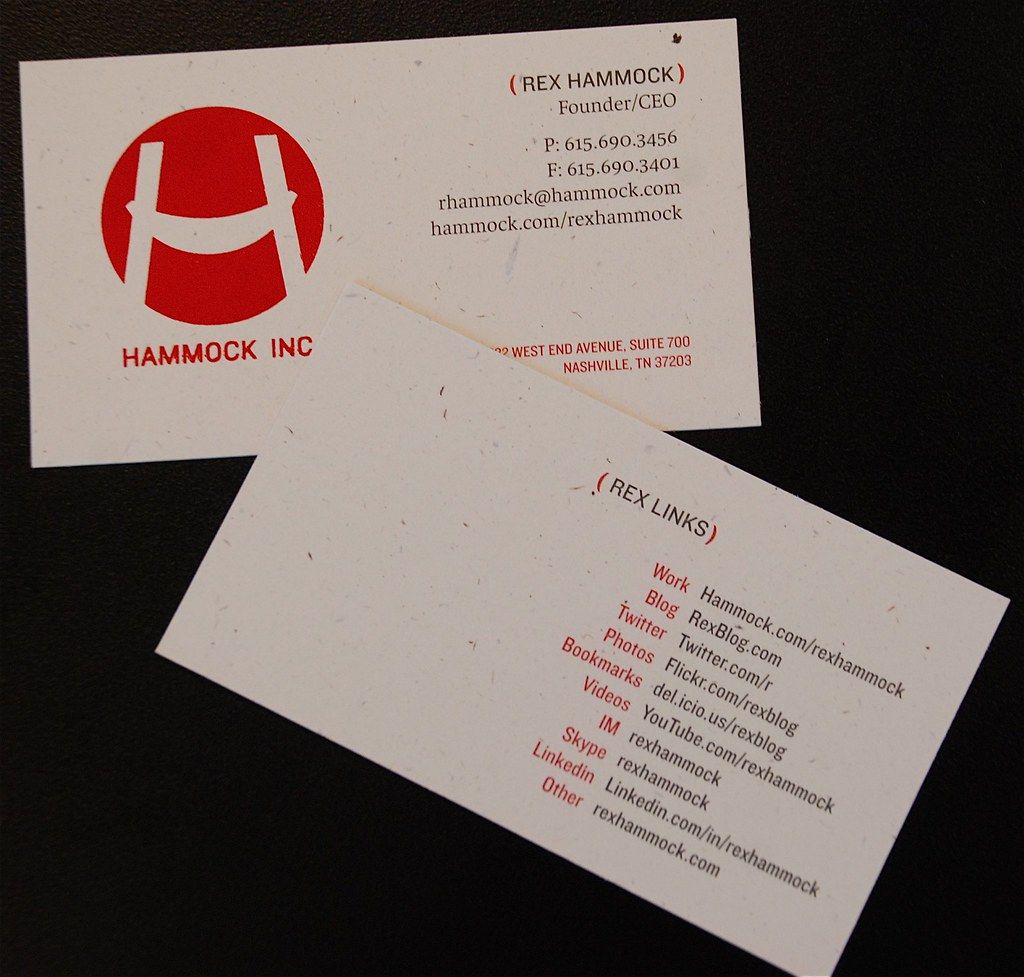 Business Card social network | I decided to have some links … | Flickr