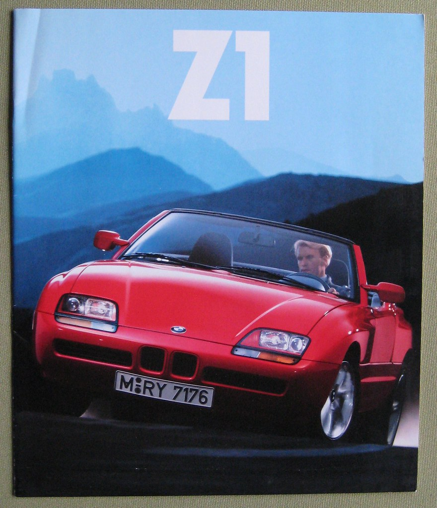bmw z1 cover of a brochure used in europe they weren 39 t sol flickr. Black Bedroom Furniture Sets. Home Design Ideas
