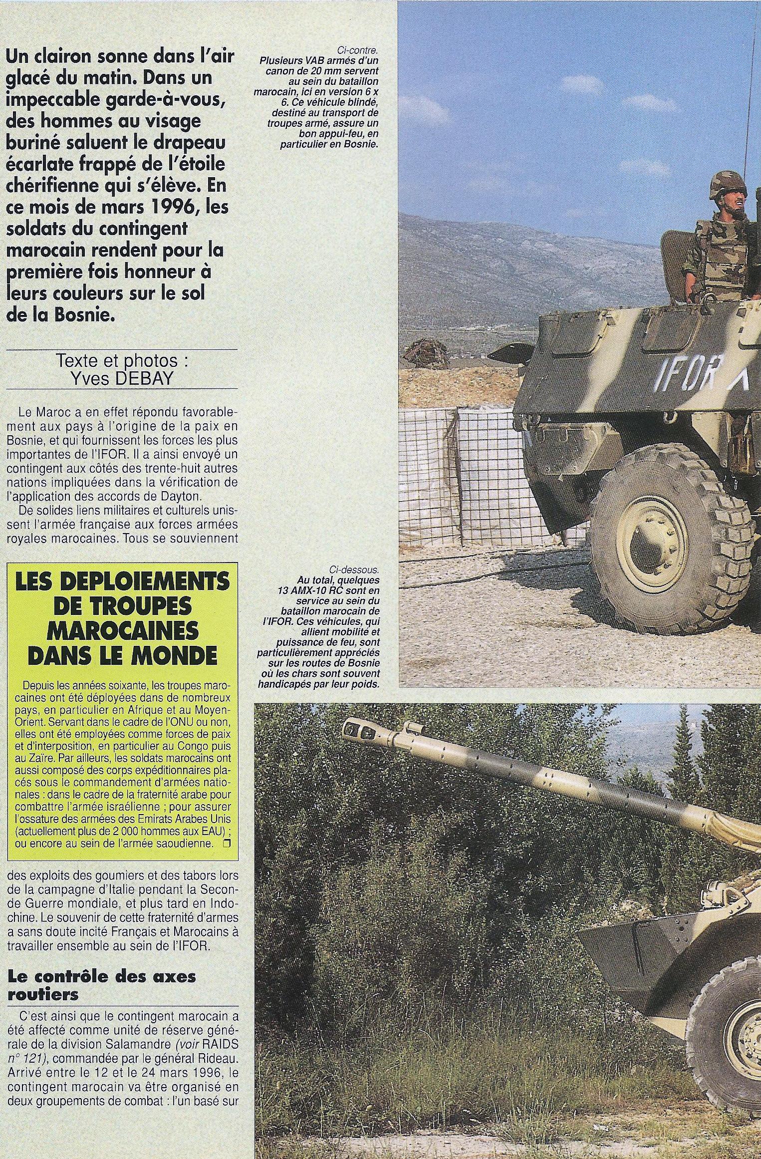 Les F.A.R. en Bosnie  IFOR, SFOR et EUFOR Althea 32095107084_d0e2dd2bcb_o