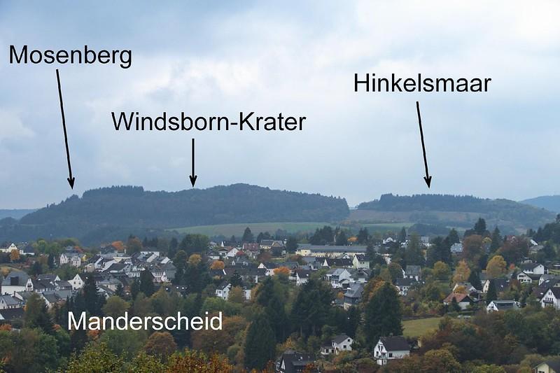 Mosenberg-Vulkane