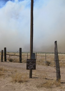 Smoke and Dust Blowing By | by Erin and Lance Adventures