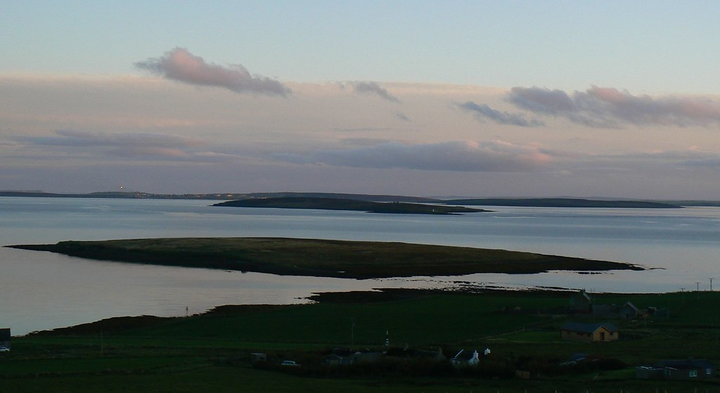 houton orkney cava and flotta behind cullya quoy is vis flickr