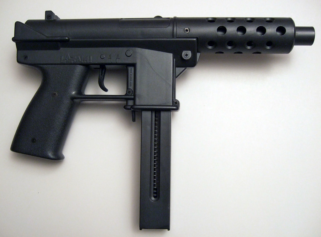 DSCF4086 | A toy gun, modeled after the Tec-9 and made by ...
