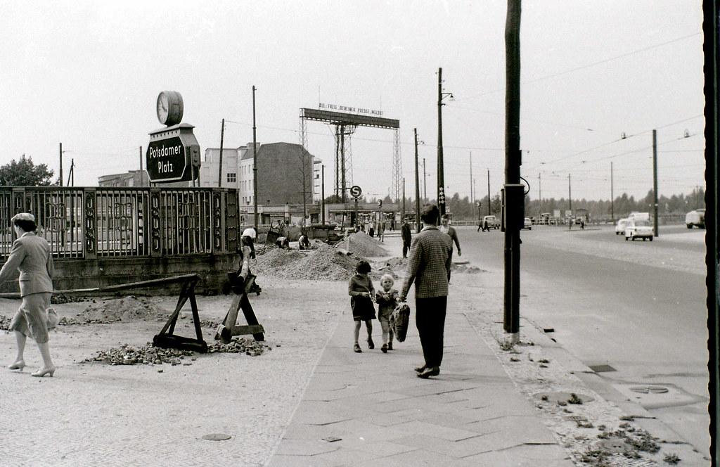 Potsdamer Platz Berlin C 31 July 1960 This And Many