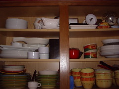 Dishes Cabinet - Before