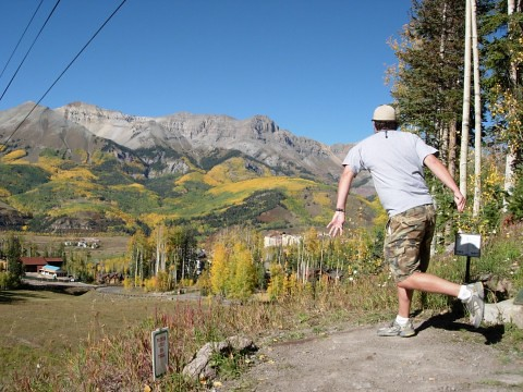 disc golf in mountain village, co | maybe the most