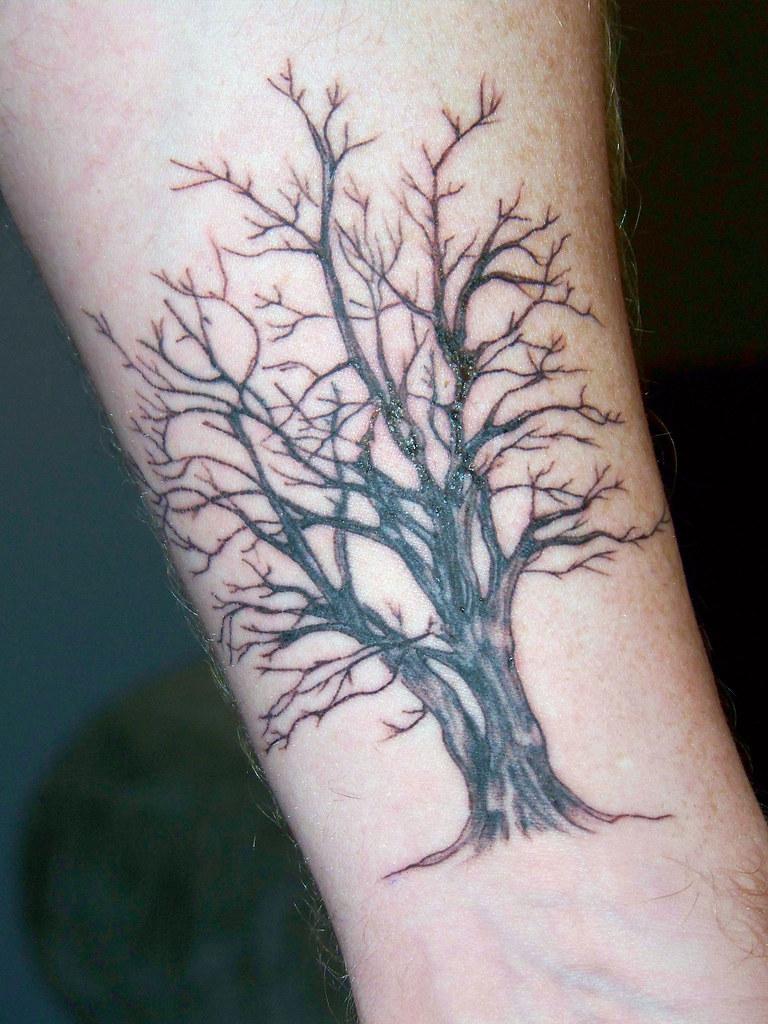 Тату дерево - значение - womanadviceru