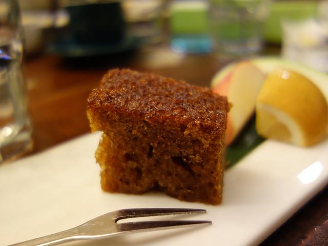 家咖哩的飯後點心,理想店舖的蜂巢蛋糕@花蓮放空行