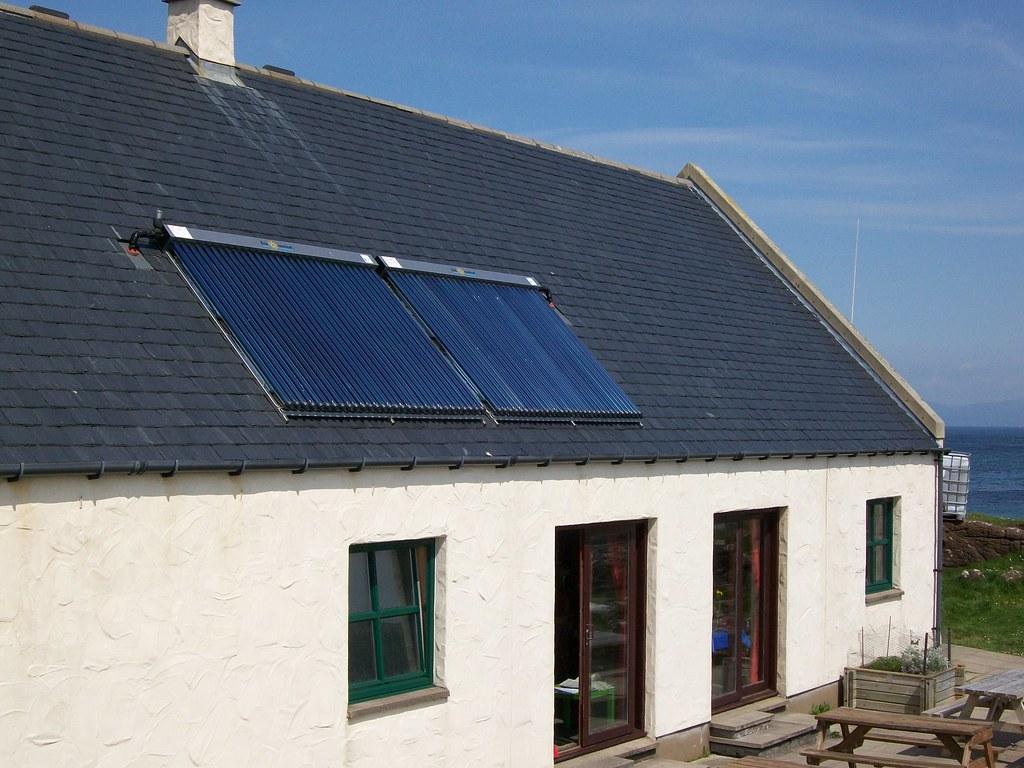 Isle of Eigg Pier Solar Panels