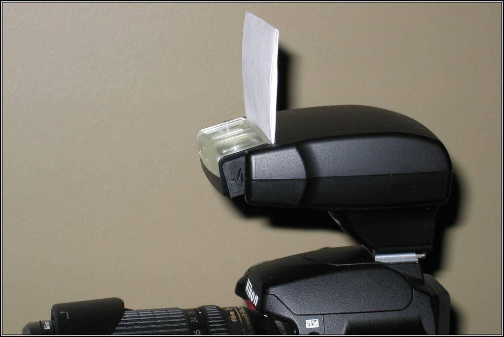 Nikon sb 400 Bounce Bounce Card For The Sb-400