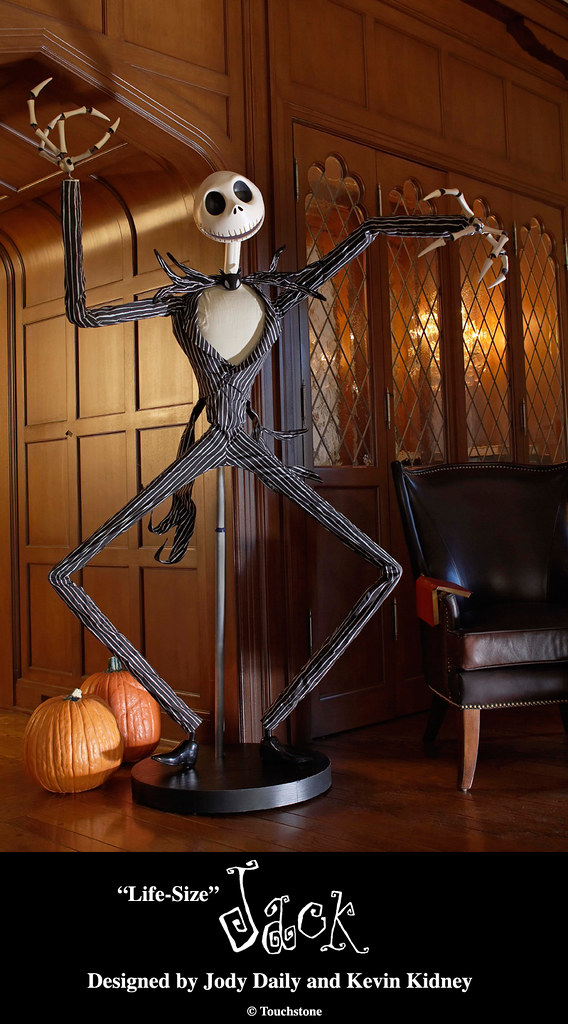 Quot Life Size Quot Jack Skellington Figure Designed By Jody