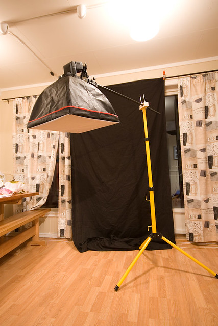 Diy Boom Stand Work Light Stand Diy Wooden Clamp And