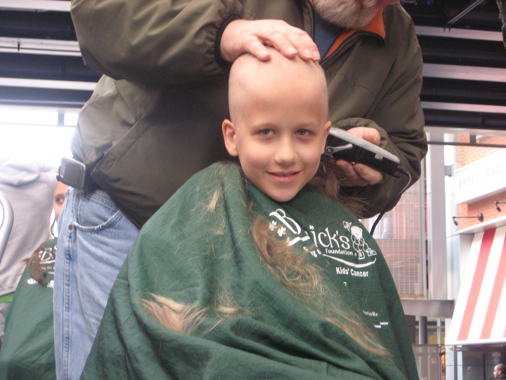 Getting His Head Shaved 47