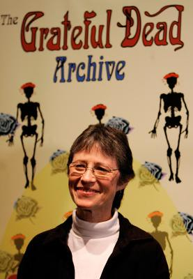 Back Up Camera Law California >> Eileen Law at the Grateful Dead Archive at the University … | Flickr