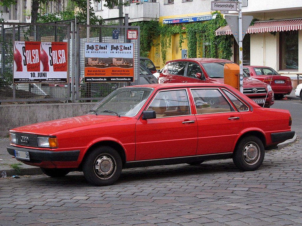 audi 80 l audi 80 l b2 spotted in berlin in may 2011 randophoto flickr. Black Bedroom Furniture Sets. Home Design Ideas