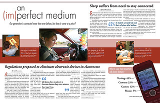 NSPA Newsmagazine Design Competition: Double Page Spread | by JayredS