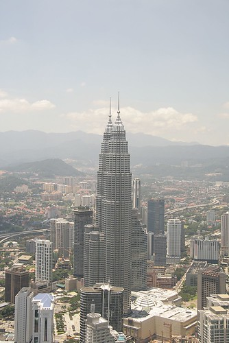 Petronas Towers from the KL Tower | by AndyLawson