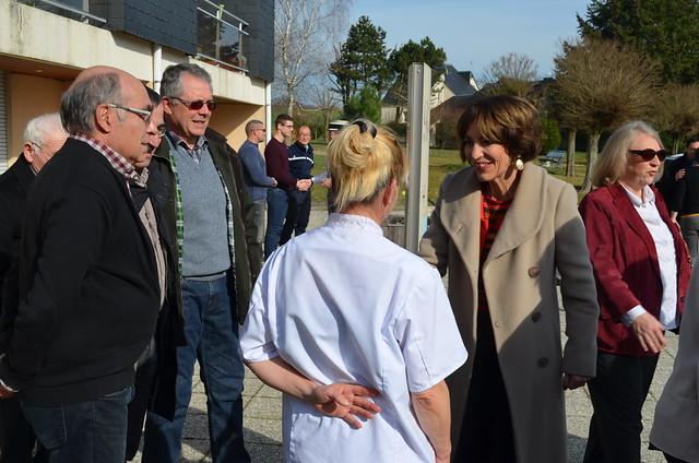 Marisol TOURAINE à Esvres, Villeloin-Coulangé & Azay-sur-Indre