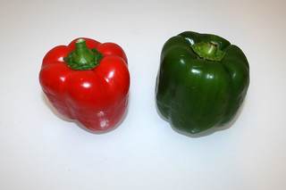 05 - Zutat Paprika / Ingredient bell pepper