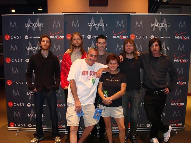 Maroon 5 meet and greet mix971 mix 971 wbns fm flickr maroon 5 meet and greet by mix 971 m4hsunfo